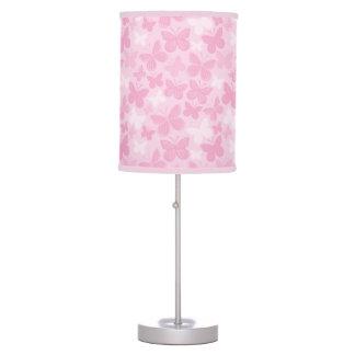 Butterfly pattern 2 desk lamp