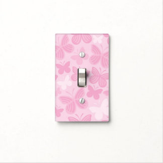 Butterfly pattern 2 light switch cover