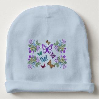Butterfly Pattern Baby Beanie