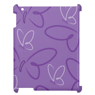 Butterfly pattern case for the iPad 2 3 4
