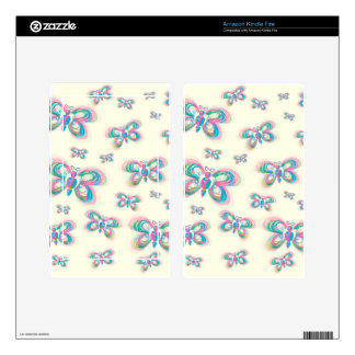 Butterfly_pattern Decals For Kindle Fire