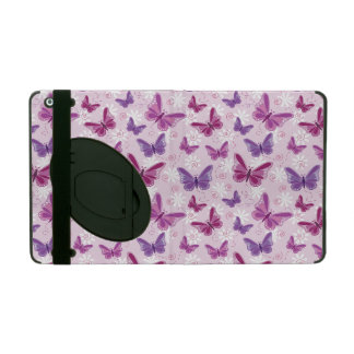 butterfly pattern iPad cover
