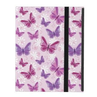 butterfly pattern iPad folio case