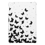 Butterfly pattern iPad mini cover