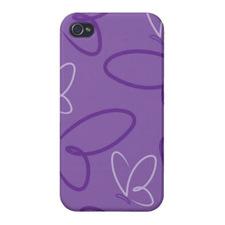 Butterfly pattern iPhone 4/4S case