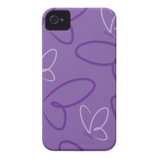 Butterfly pattern iPhone 4 cover