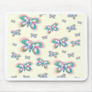 Butterfly_pattern Mouse Pad