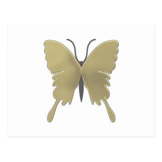 Butterfly pattern postcard