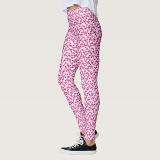 Butterfly Pattern Pretty Pink Purple Leggings