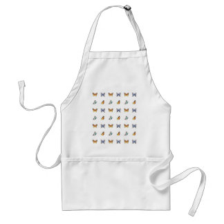 Butterfly Pattern: Vector Art Adult Apron