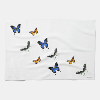 Amazing Butterfly Patterned Kitchen Towel