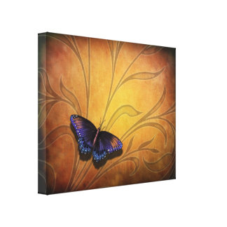 Butterfly Pause V2 Canvas Print