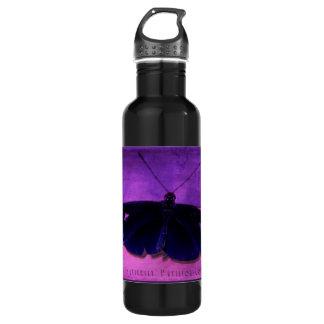 Butterfly Pavilion - Colors - Purple - Waterbottle Water Bottle