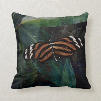 Butterfly Pavilion - Tygre Throw Pillow