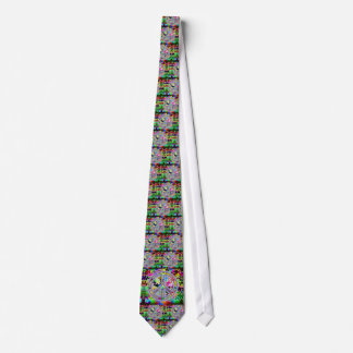 Butterfly Peace Sign necktie