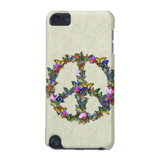 Butterfly Peace Symbol iPod Touch (5th Generation) Cover