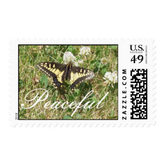 Butterfly, Peaceful Stamp