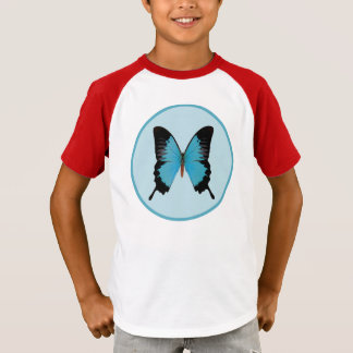 Butterfly Peacock Royal T-Shirt