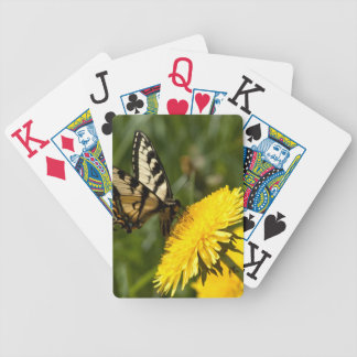 Butterfly Perch Bicycle Playing Cards