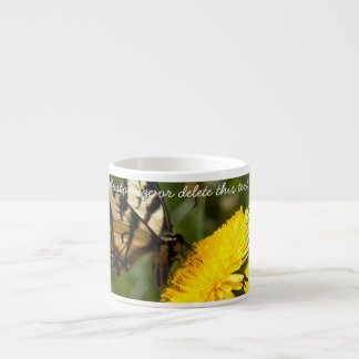 Butterfly Perch; Customizable Espresso Cup