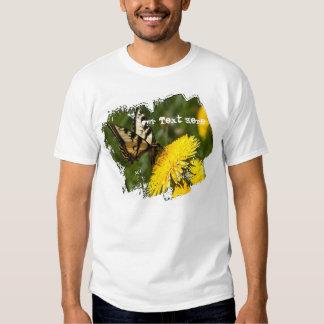 Butterfly Perch; Customizable T-Shirt
