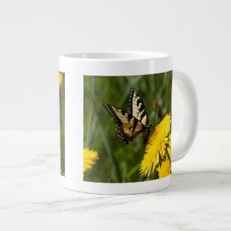 Butterfly Perch Giant Coffee Mug