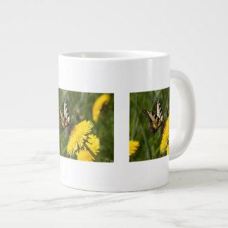Butterfly Perch Large Coffee Mug