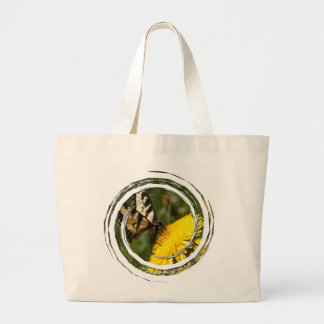 Butterfly Perch Large Tote Bag
