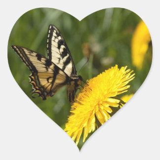 Butterfly Perch Sticker