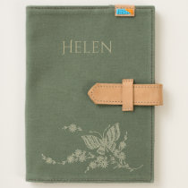 Butterfly Personalized Canvas Journal