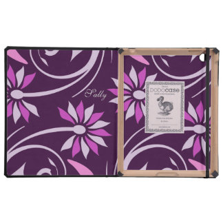 Butterfly personalized iPad folio case