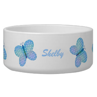 Butterfly: Personalized Pet Dish