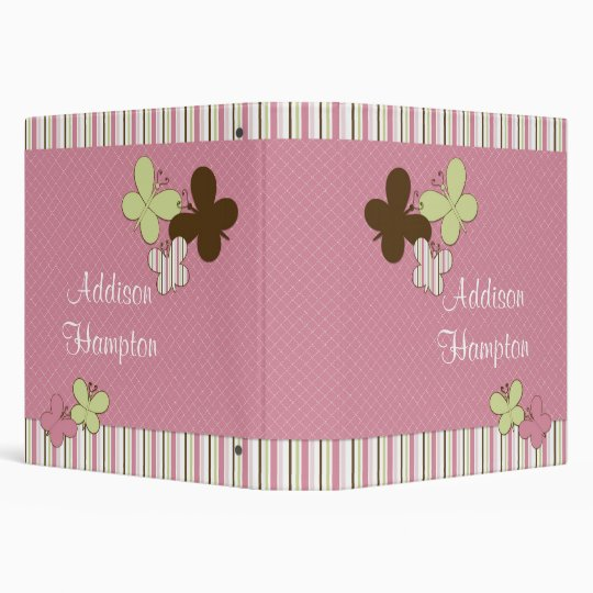 Butterfly Personalized Photo Book Binder