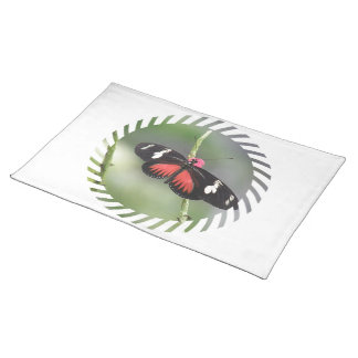 Butterfly Photo Design  Placemat Cloth Place Mat