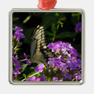 Butterfly Photo Gift Metal Ornament