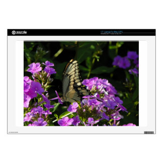 "Butterfly Photo Gift Skin For 17"" Laptop"