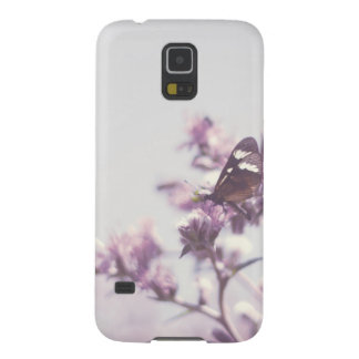 Butterfly photo pastel pale blue sky galaxy s5 case