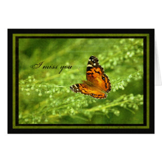Butterfly - Photography - Grunge Card