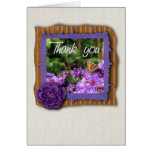 Butterfly photography thank you card