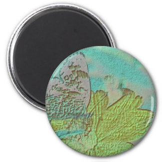 Butterfly Picture 2 Inch Round Magnet