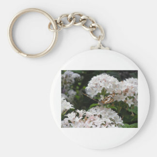 Butterfly Pictures Basic Round Button Keychain