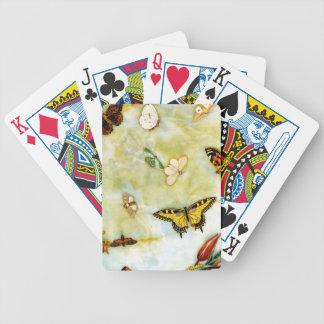 Butterfly Pietra Dura Card Decks
