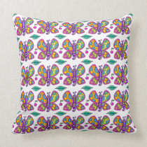 Butterfly Pillow - See Back
