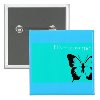 Butterfly pin and mount