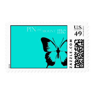 Butterfly pin postage