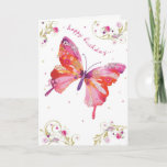 "Butterfly Pink Happy Birthday Card<br><div class=""desc"">Butterfly Pink Happy Birthday Card</div>"