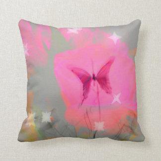 Butterfly Pink Pillow