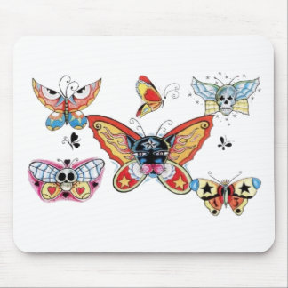 butterfly pirates mouse pad