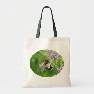 Butterfly Pollinating Tote Bag