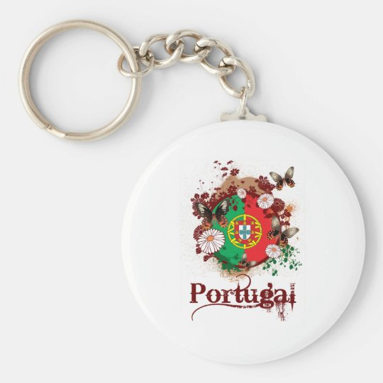 Butterfly Portugal Keychain